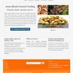 طراحی سایت شرکت بازارگانی آرام خوش در دبی به زبان انگلیسی