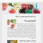 طراحی وب سایت گرانیتا (بستنی یخی)