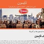 طراحی سایت تایسون