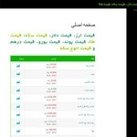 طراحی سایت صرافی 110 منوچهری